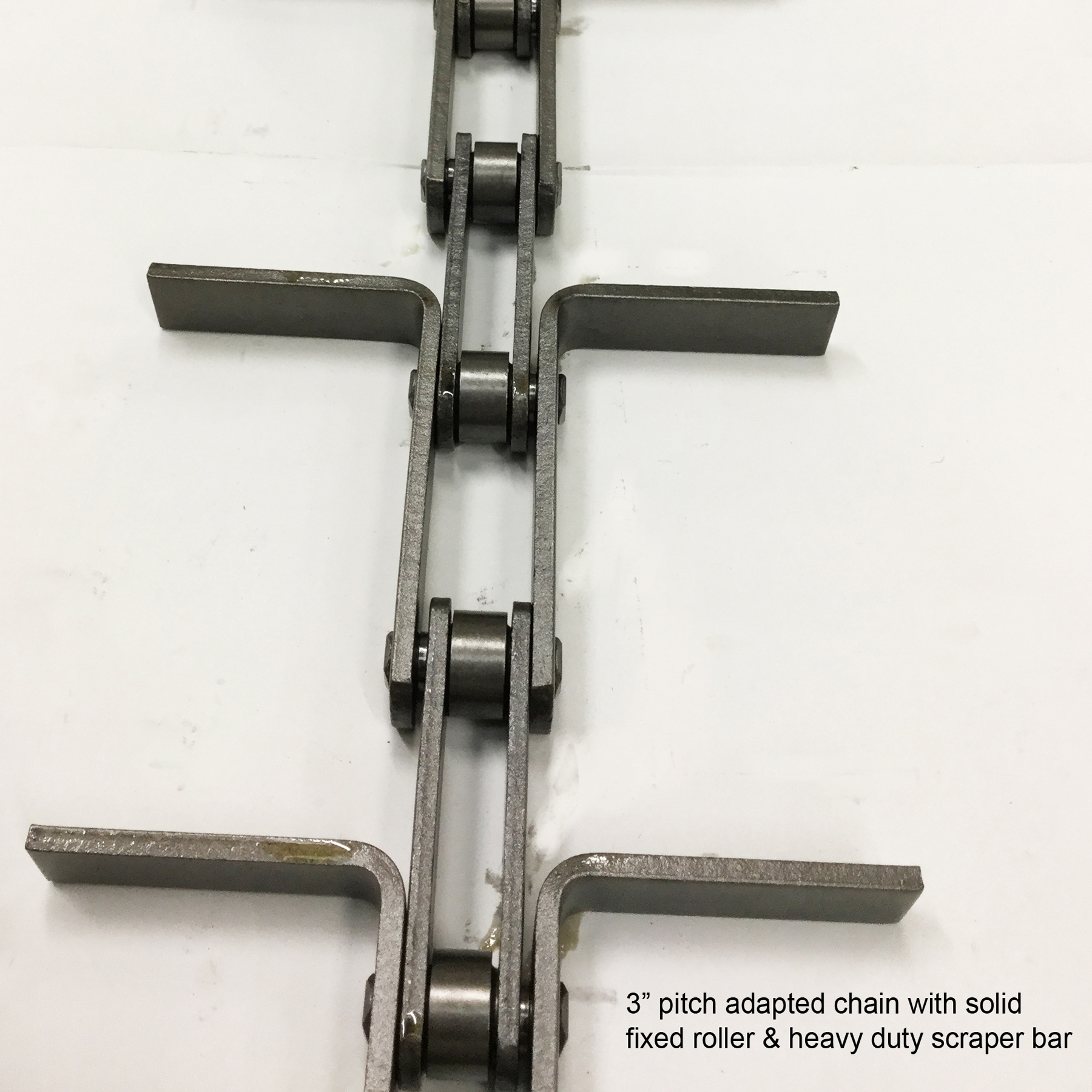 Adapted chain HD scraper