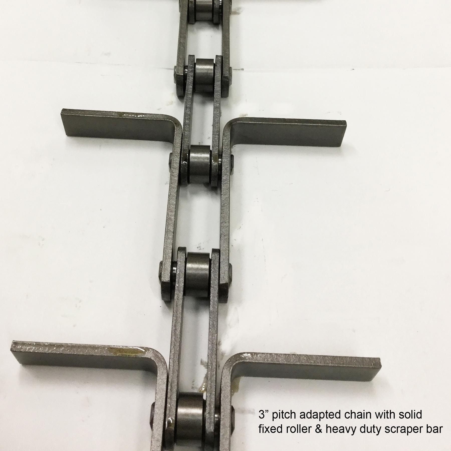 Adapted chain HD scraper